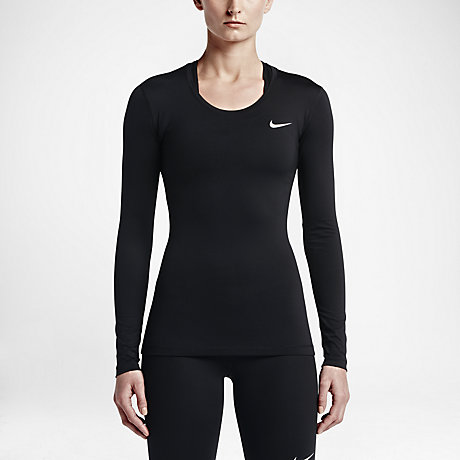 Nike Pro Women's Long Sleeve Training Top. Nike.com