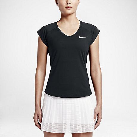 tennis shirt nike zwart