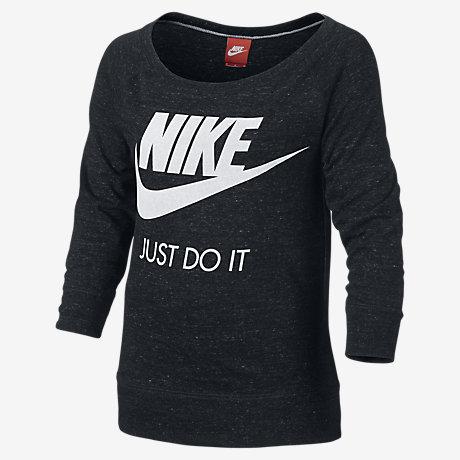 Nike Gym Vintage Crew Girls' Sweatshirt. Nike.com