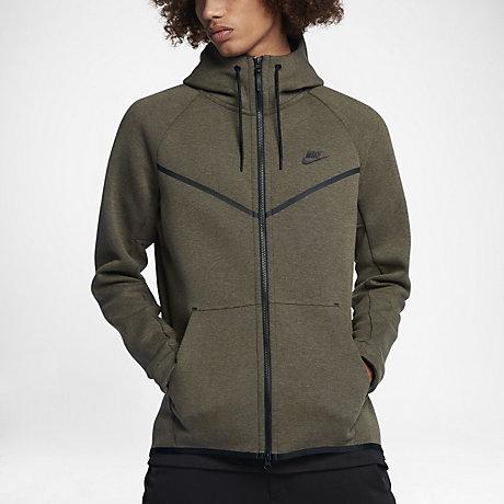 563a44f24678 nike tech fleece windrunner full zip hoodie homme hoodies