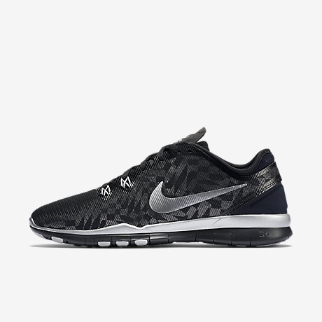 Nike Flex Fury 2 Womens 819135 001 Black Grey Running