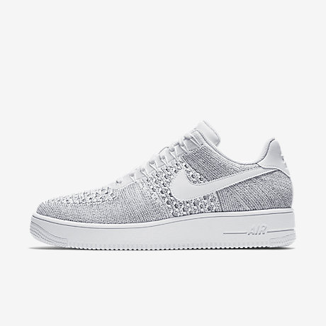 nike air force 1 flyknit bianche uomo