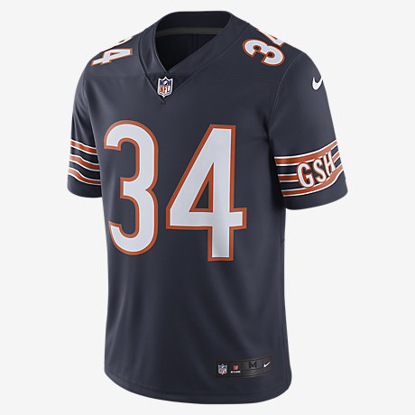 6f324f976e2 ... NFL Chicago Bears Color Rush Limited (Walter Payton) Mens Football Jersey  Nike 2017 Vapor Untouchable ...