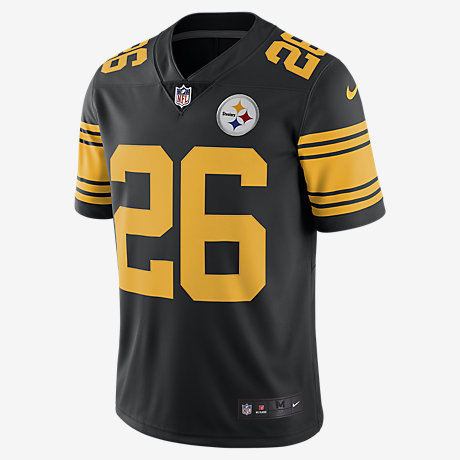 finest selection 13c49 f2d1f aliexpress blackwhite leveon bell mens jersey nfl nike ...