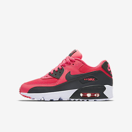 on feet shots of best price the sale of shoes nike pink pink air max 90 older girls