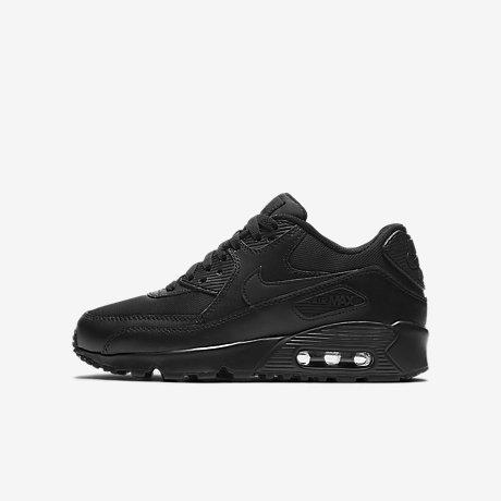 Nike Air Max 90 Mesh SE (GS) (schwarz) Sneaker chez
