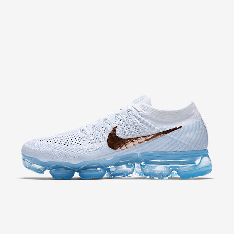 "TRAINERS UK 13-14 NIKE AIR VAPORMAX FLYKNIT /""WHITE/"" 849558 100"