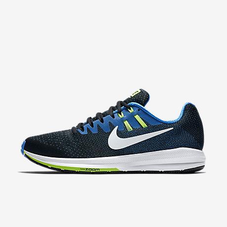 nike running shoes black and white. nike air zoom structure 20 men\u0027s running shoe shoes black and white