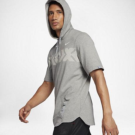 Nike Air Pivot N7 Men's Short Sleeve Hoodie. Nike.com