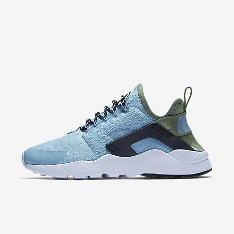 Nike Air Huarache Green Blue