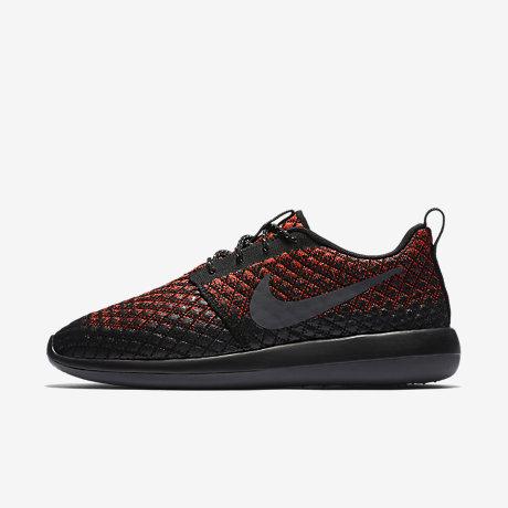 Nike Men Roshe Two Flyknit 365 (bright crimson / dark grey black black)
