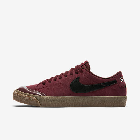 nike sb blazer high marron
