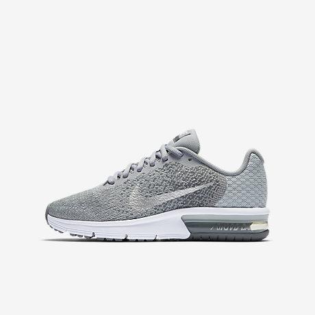 Nike air max sequent 2 ( blanchesgris clair)