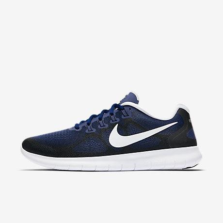 nike free run black blue