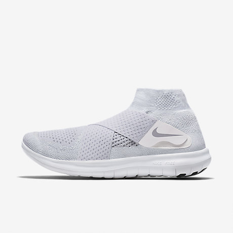 NIKE FREE RN FLYKNIT 2018 MEN's RUNNING WHITE - BLACK - PURE PLATINUM NEW US SZ