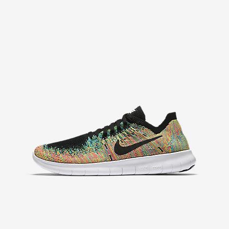 ... Nike Free RN Flyknit 2017 Older Kids Running Shoe ...