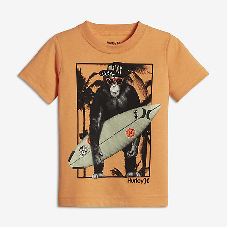 Hurley Monkey Biz Little Kids' (Boys') T-Shirt. Nike.com