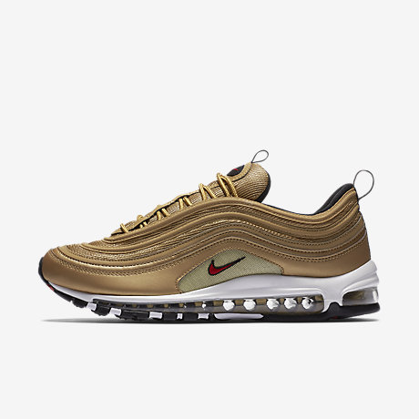 boutique avec confiance Nike Air Max 97 Gold Bullet 884421 700 Running Shoe For Sale