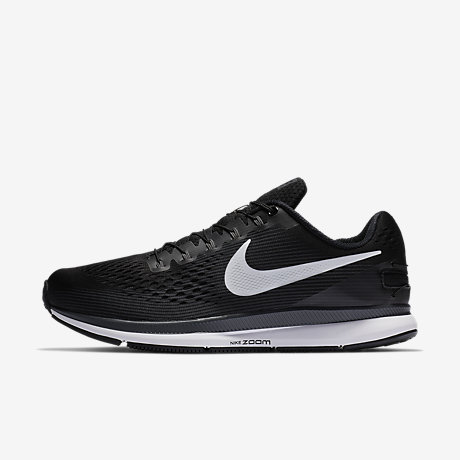Nike Air Zoom Pegasus 34 Men's Running Shoes Black/Grey/White zN1605F
