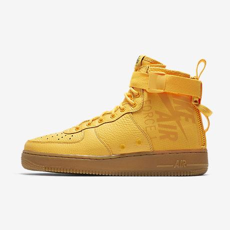 Nike Air Force 1 Mid Sf Orange Shoes UK Sale