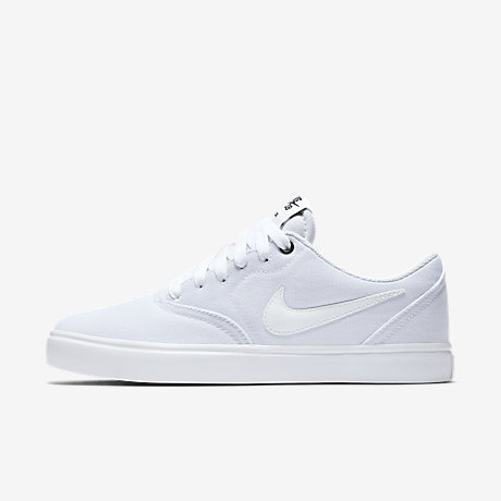 Womens Nike White Canvas Sneakers