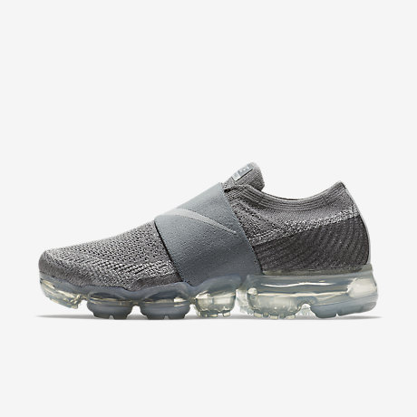 Nike Womens Air Vapormax Flyknit Grey Silver Purpl Shoes