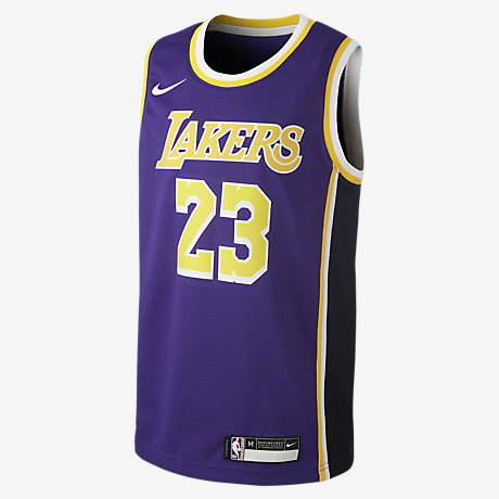LeBron James Statement Edition Swingman Jersey (Los Angeles Lakers) Older  Kids NBA Jersey