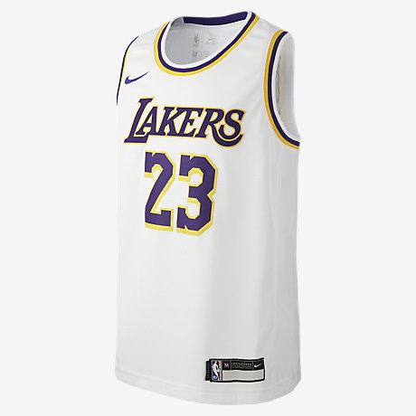 0edfb77ac563 LeBron James Association Edition Swingman Jersey (Los Angeles Lakers) NBA-Trikot  für ältere