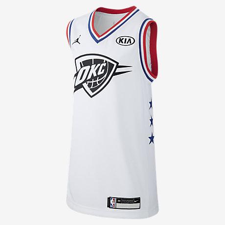 Russell Westbrook All-Star (Oklahoma City Thunder). Older Kids  Jordan NBA  Jersey 05edacae4