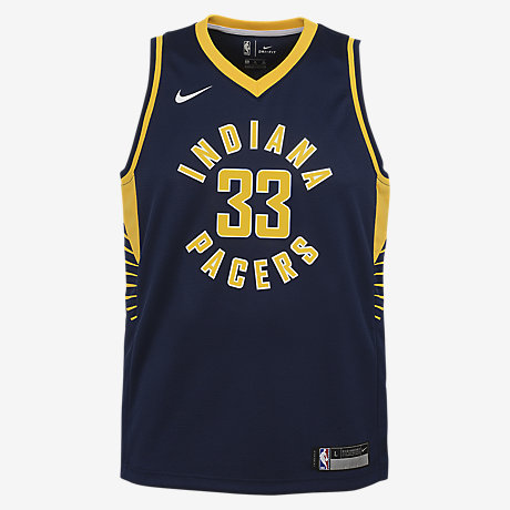 Myles Turner Indiana Pacers Nike Icon Edition Swingman Big Kids ...
