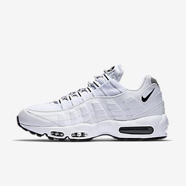 Купить Мужские кроссовки Nike Air Max 95. Белый/Черный/Черный Артикул: 609048-109