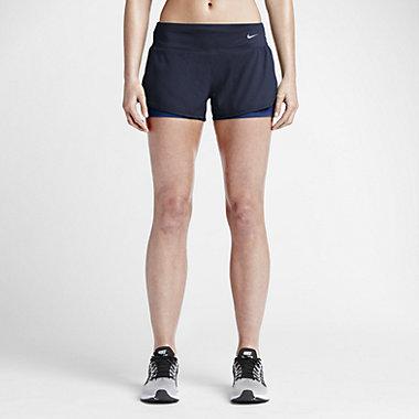 Купить Женские шорты для бега Nike 2-in-1 7,5 см