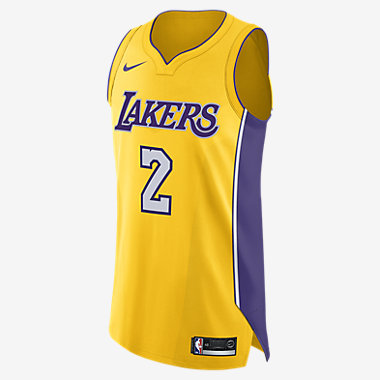 Купить Мужское джерси Nike НБА Lonzo Ball Icon Edition Authentic (Los Angeles Lakers) с технологией NikeConnect
