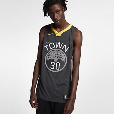 Купить Мужское джерси Nike НБА Stephen Curry Statement Edition Authentic (Golden State Warriors) с технологией NikeConnect