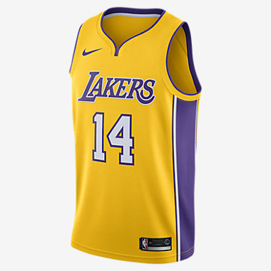 Купить Мужское джерси Nike НБА Brandon Ingram Icon Edition Swingman Jersey (Los Angeles Lakers) с технологией NikeConnect