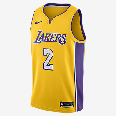 Купить Мужское джерси Nike НБА Lonzo Ball Icon Edition Swingman Jersey (Los Angeles Lakers) с технологией NikeConnect
