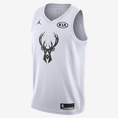 Купить Мужское джерси Jordan НБА Giannis Antetokounmpo All-Star Edition Swingman Jersey с технологией NikeConnect