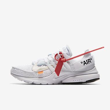 Купить Мужские кроссовки The 10: Nike Air Presto x Off-White, Белый/Конус/Черный, Артикул: AA3830-100