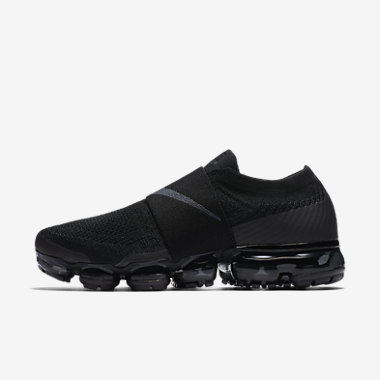 Купить Женские беговые кроссовки Nike Air VaporMax Flyknit Moc. Черный/Антрацитовый Артикул: AA4155-004