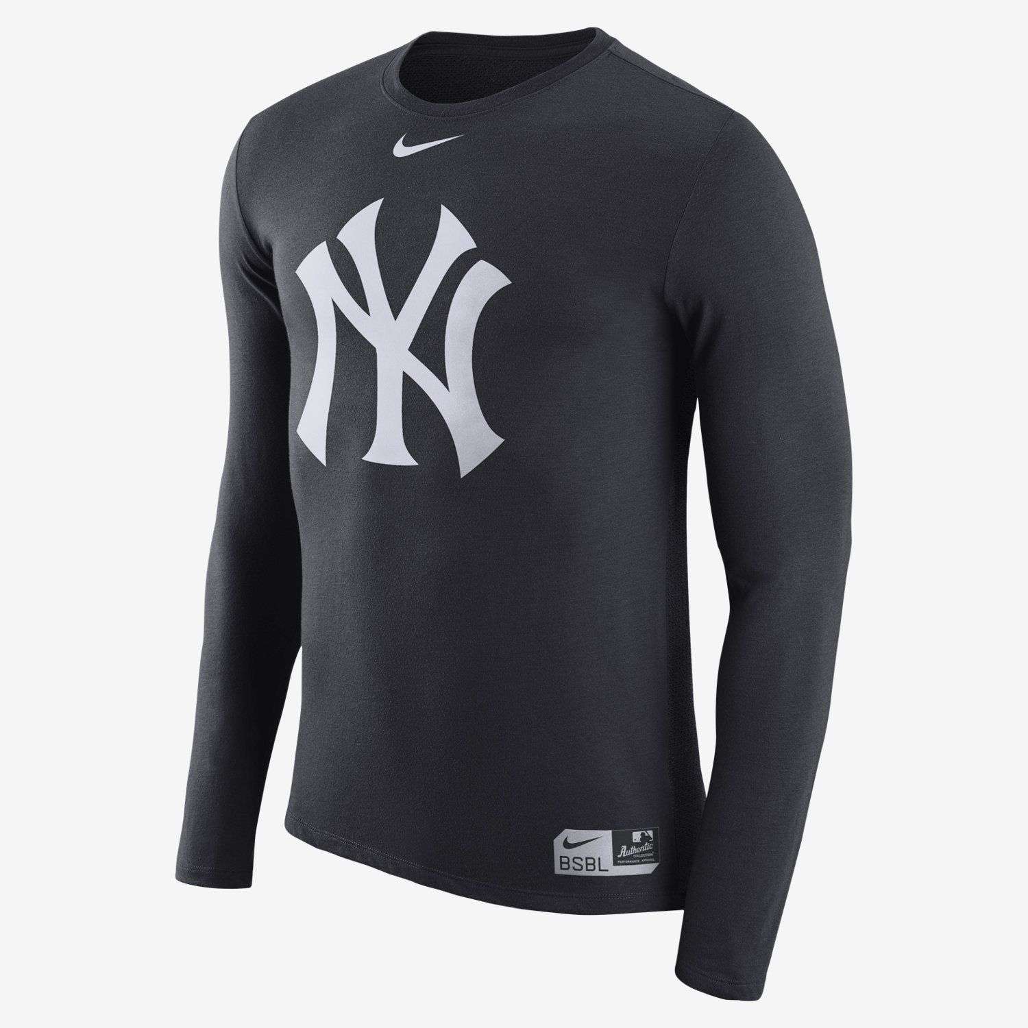 Nike Dri-Blend (MLB Yankees) Men's Long Sleeve T-Shirt. Nike.com