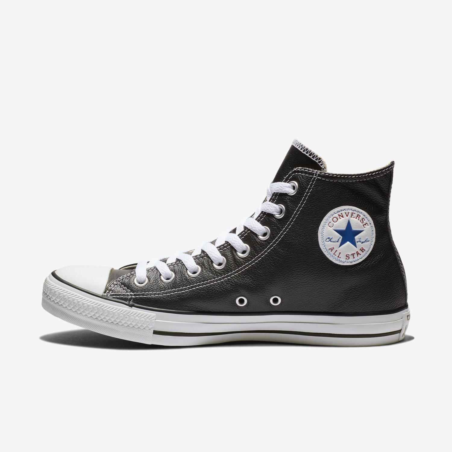 converse all star leather hi shoes white style guru. Black Bedroom Furniture Sets. Home Design Ideas