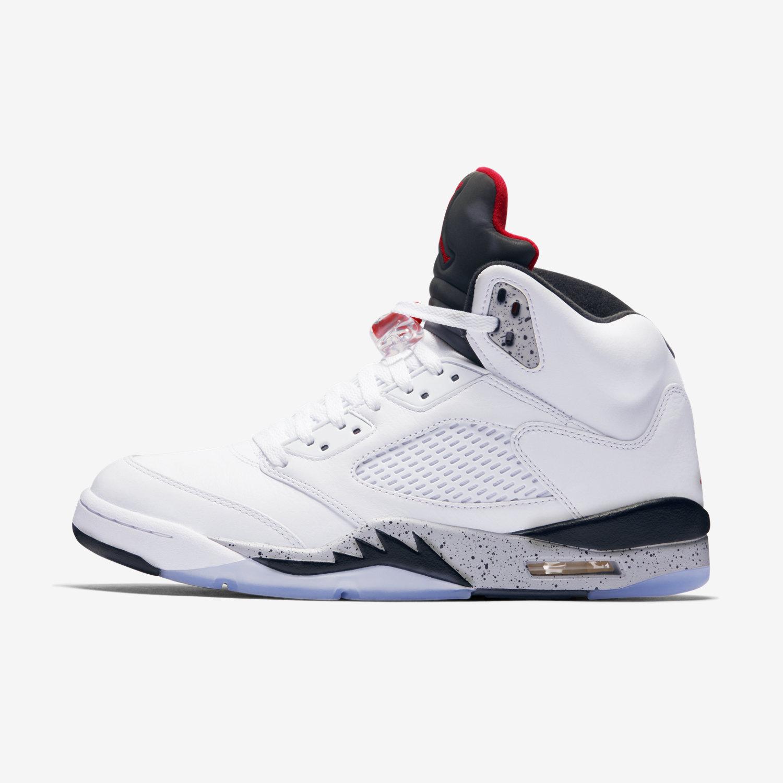 Air Jordans Retro 5 Men's Air Jordan Retro 5 Basketball Shoes