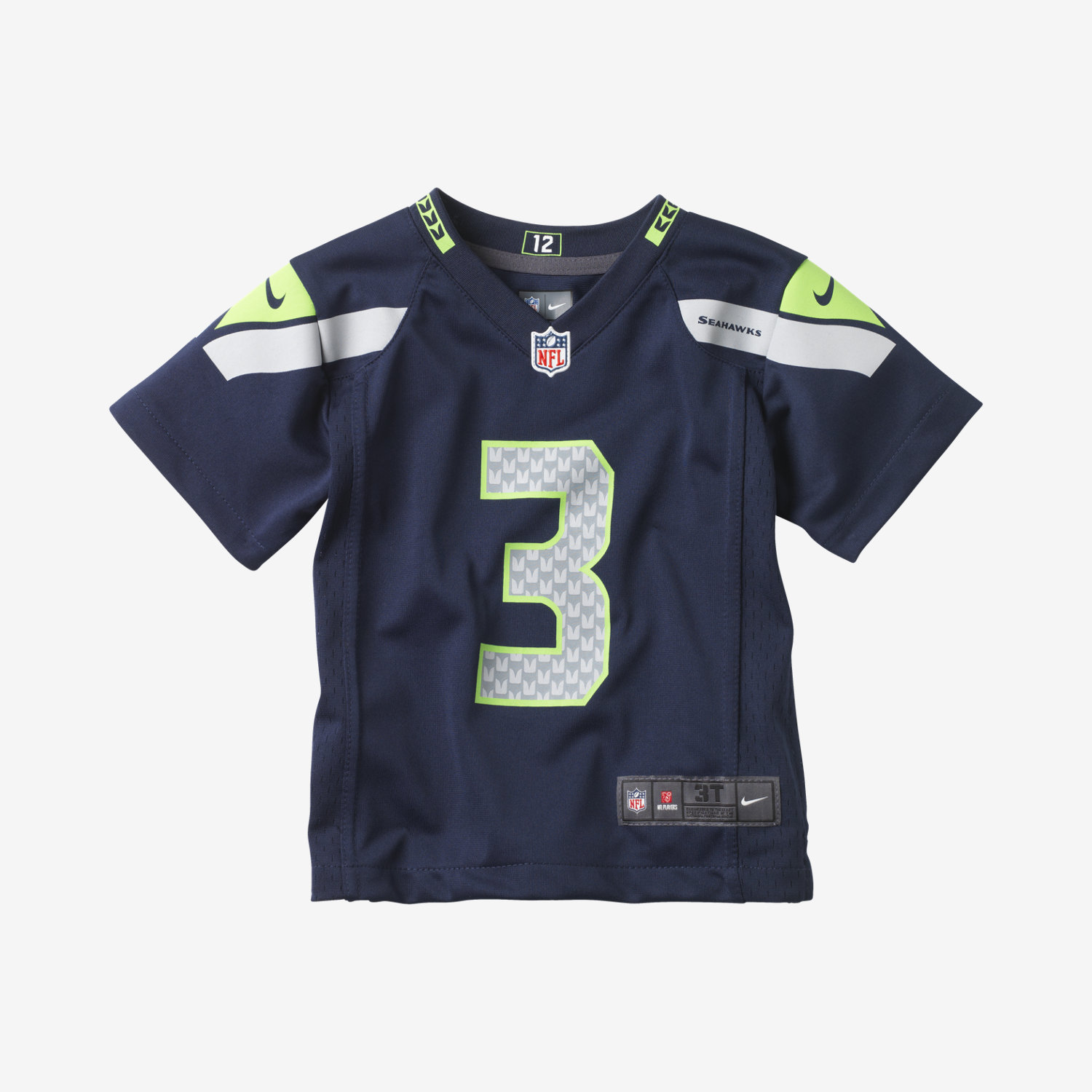 nfl seattle seahawks russell wilson toddler kids u0027 football home