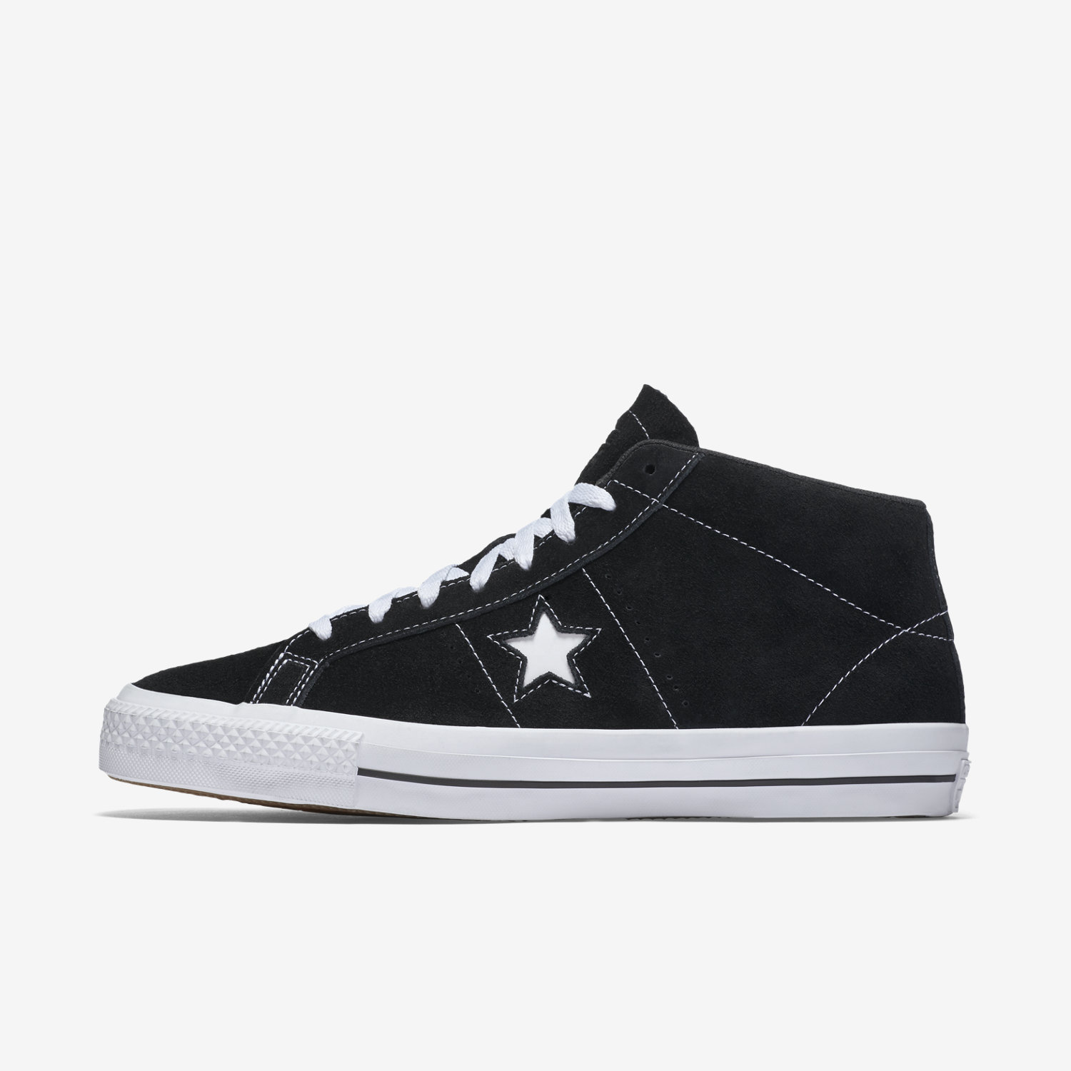 Converse Cons One Star Pro Suede Mid Top Men's Skateboarding Shoe. Nike.com