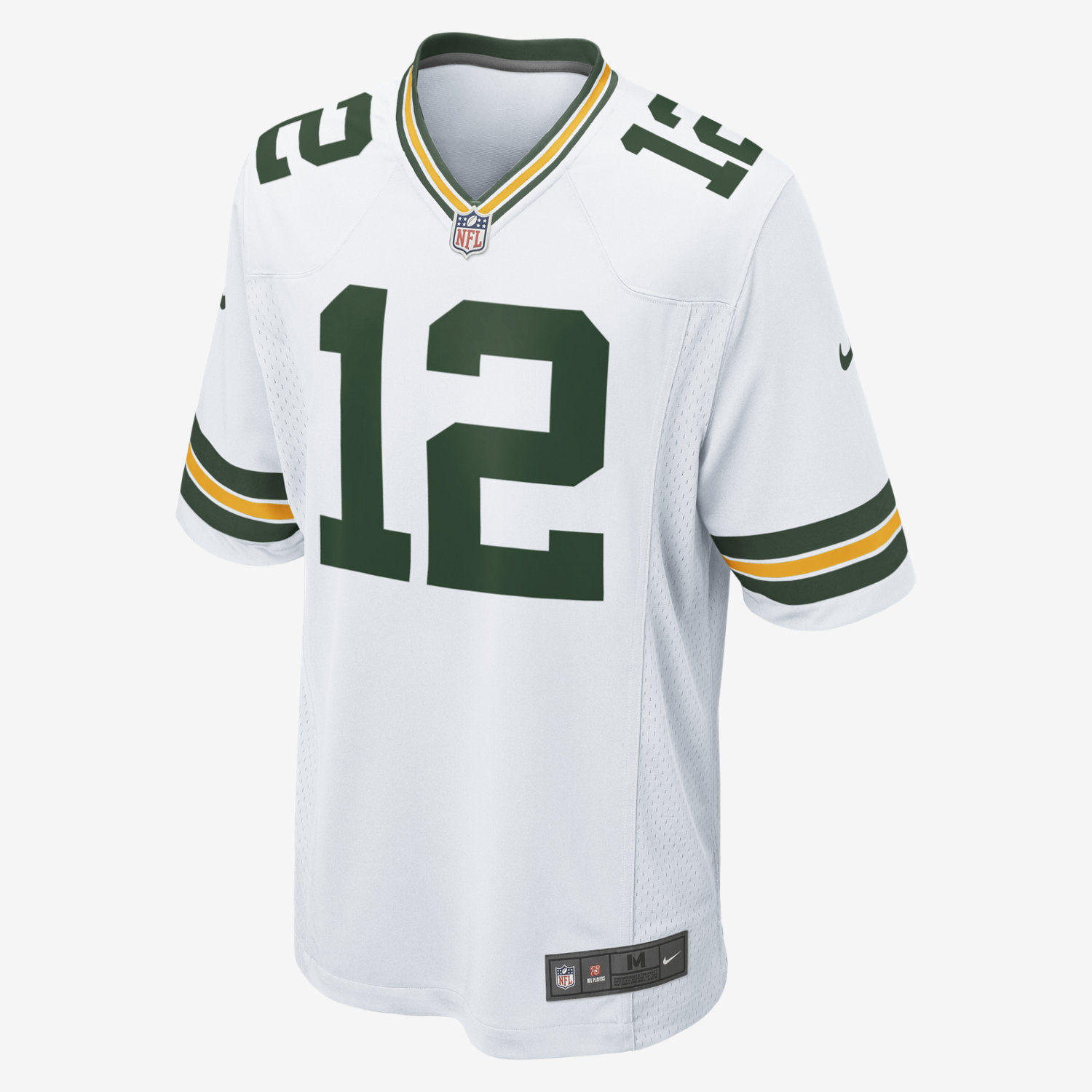 9e7f7bd4 ... NFL Green Bay Packers (Aaron Rodgers) Mens Football Away Game Jersey.  Nike. 12 Nike Game Jim Kelly ...