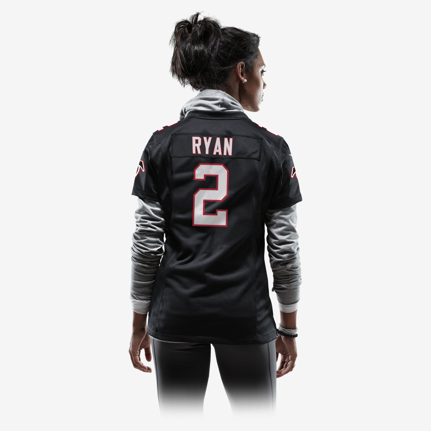 NFL Atlanta Falcons Matt Ryan Women s Football Alternate Game