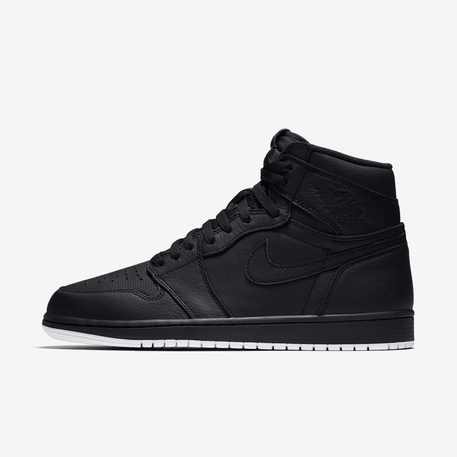 nike air jordan 1 retro high black