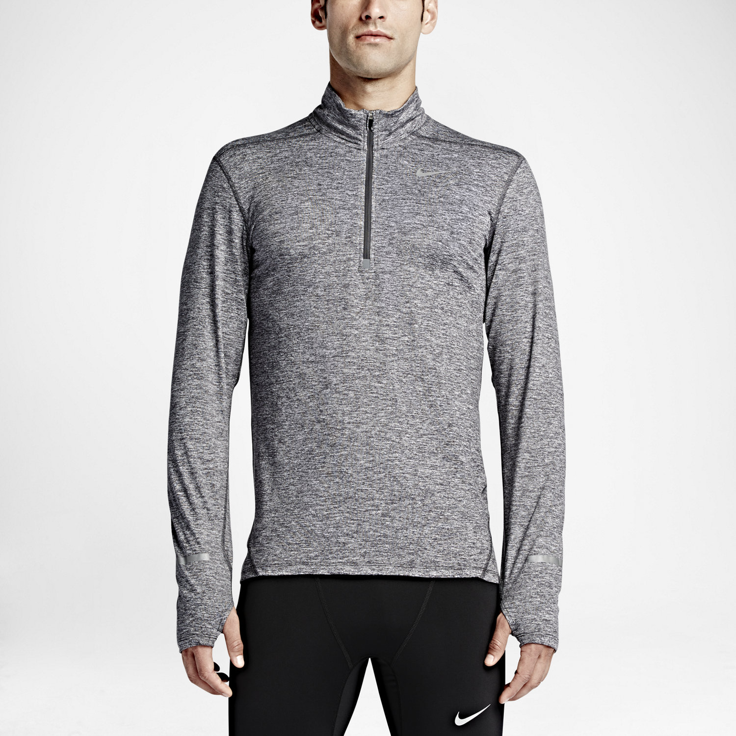 Nike Dry Element Men's Half-Zip Long Sleeve Running Top. Nike.com