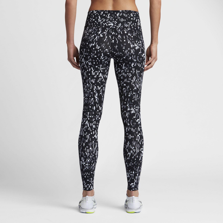 Nike Power Legendary Women's Printed Mid Rise Training Tights ...