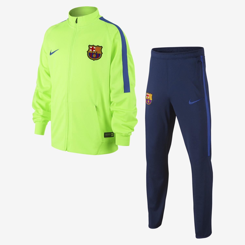 Le Nouveau Survetement FC Barcelone Vert 15 2016 2017 Prix Pas Cher bas survetement  fc barcelone. Nike Pantalon Jogging 808950 451 FC Barcelona Bleu Marine 0d2d4452952